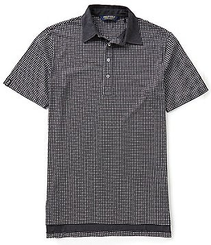 Polo Golf Printed Luxe Jersey Short-Sleeve Polo Shirt