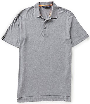 Polo Golf Club Lisle Short-Sleeve Solid Polo Shirt