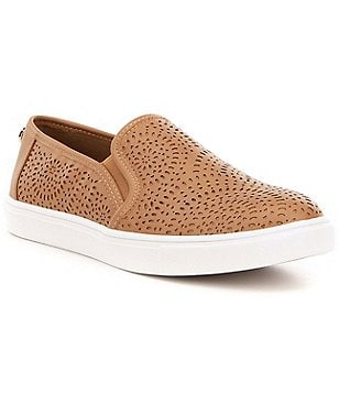 Steve Madden Episode Laser Cut Slip On Flatform Sneakers
