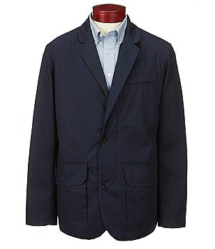 Nautica Coast 2-Button Notch Lapel Blazer