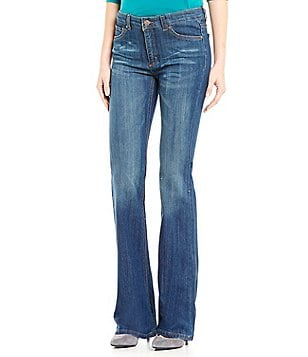 Jones New York Bleecker Boot Leg Stretch Denim Jeans