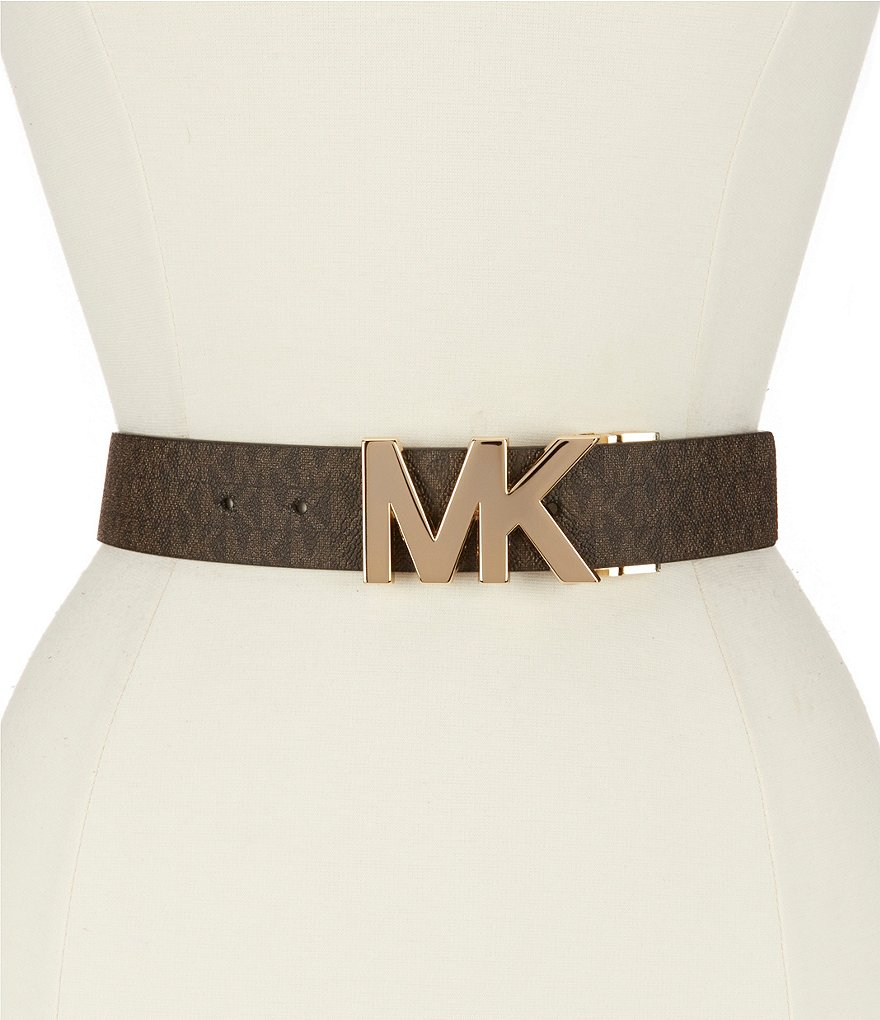 Michael Kors Signature Reversible Logo Belt