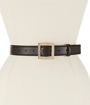 Michael Kors Smooth Leather Belt