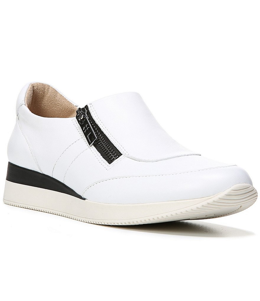 Naturalizer Jetty Zip Up Leather Color Block Sneakers