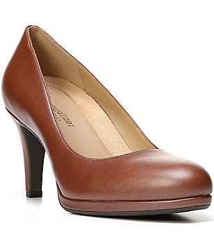 Naturalizer Michelle Leather Slip-On Pumps