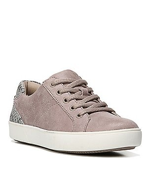 Naturalizer Morrison Snake Print Detail Lace Up Sneakers