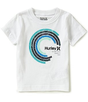 Hurley Little Boys 2T-7 Spectrum Short-Sleeve Tee