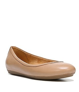 Naturalizer Brittany Leather Slip-On Ballerina Flats