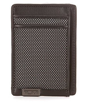 Tumi ID Lock Alpha Money Clip Card Case