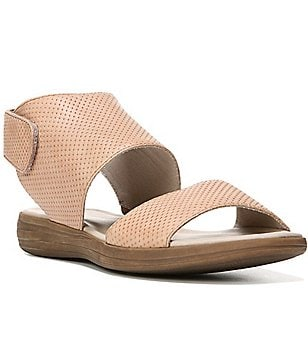 Naturalizer Fae Perforated Leather Banded Sandals
