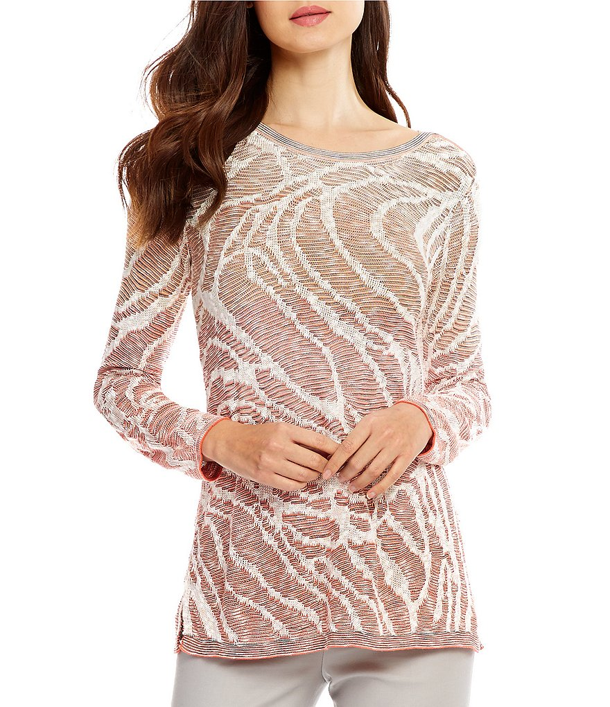 ZOZO Sunset Knit Long Sleeve Top