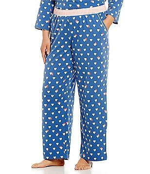 Sleep Sense Plus Hearts & Stripes Sleep Pants