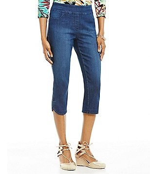 Westbound the PARK AVE fit Denim Capri