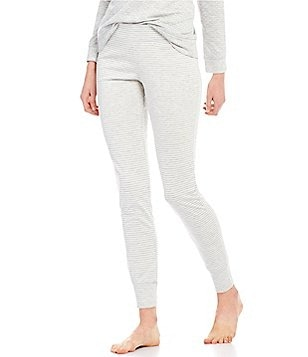 Jasmine & Ginger Striped Jacquard Sleep Pants