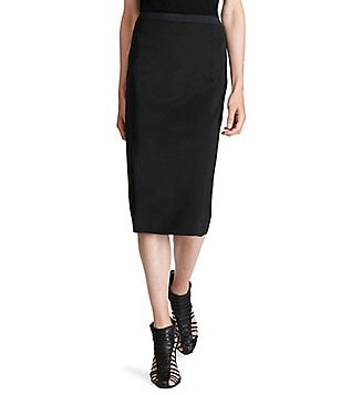 Polo Ralph Lauren Ponte Slim Fit Pull-On Pencil Midi Skirt