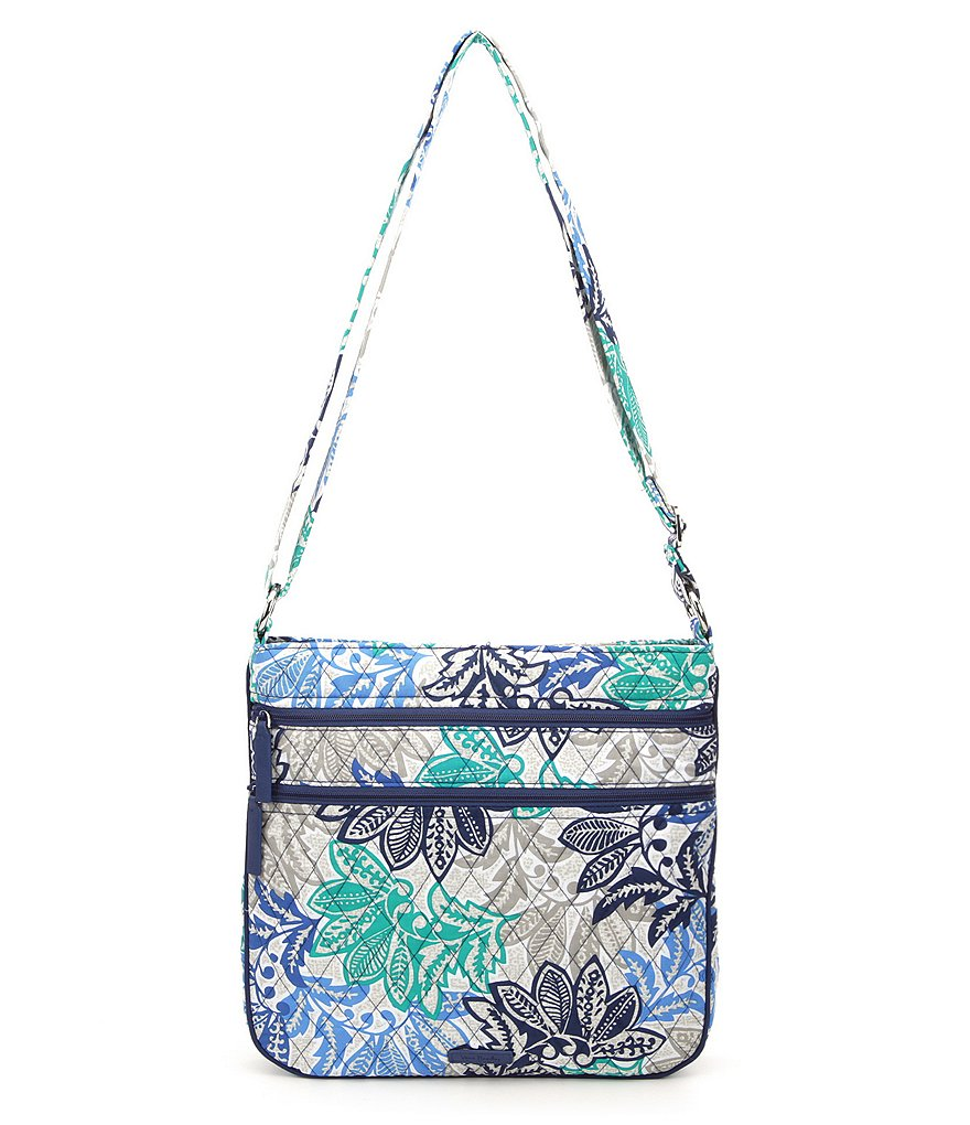 Vera Bradley Triple Zip Hipster Cross-Body Bag