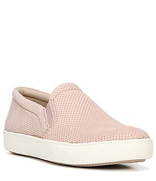 Naturalizer Marianne Perforated Leather Slip On Sneakers