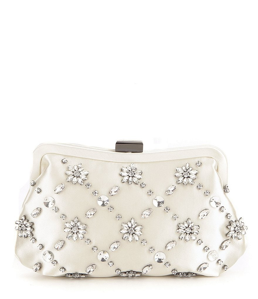 Badgley Mischka Avery Beaded Clutch