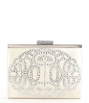Badgley Mischka Alice Rhinestone Frame Clutch
