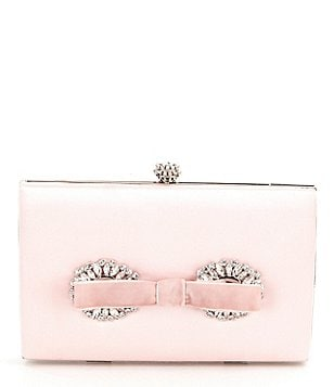 Badgley Mischka Autumn Jeweled Bow Minaudière