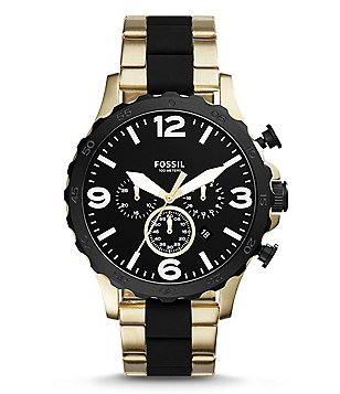 Fossil Nate Chronograph Bracelet Watch