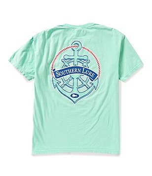 Southern Lure Men´s Anchor Short-Sleeve Pocket Graphic Tee
