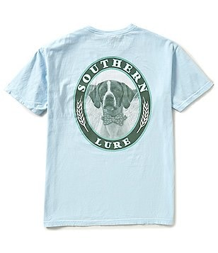 Southern Lure Men´s Hound With Bow Tie Short-Sleeve Pocket Graphic Tee