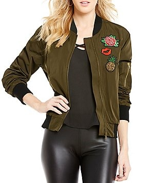 GB Patched Bomber Jacket