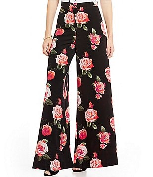 GB Wide Leg Floral Pants
