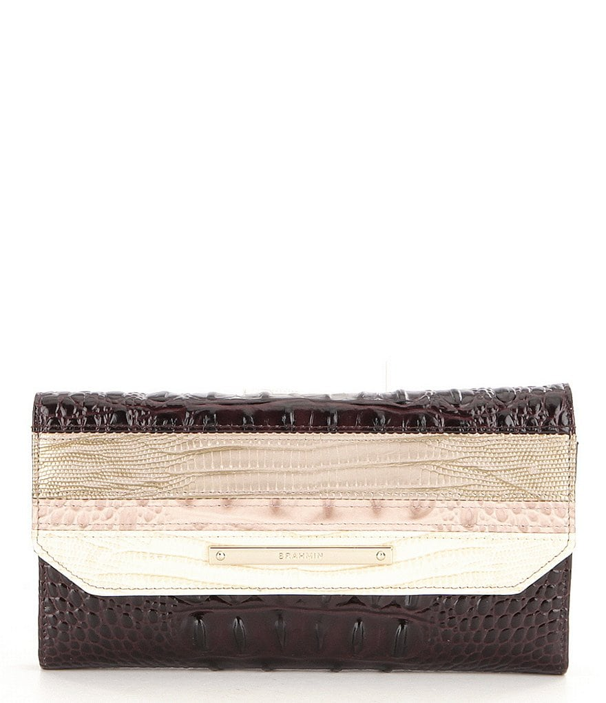 Brahmin Kapoor Collection Soft Checkbook Wallet