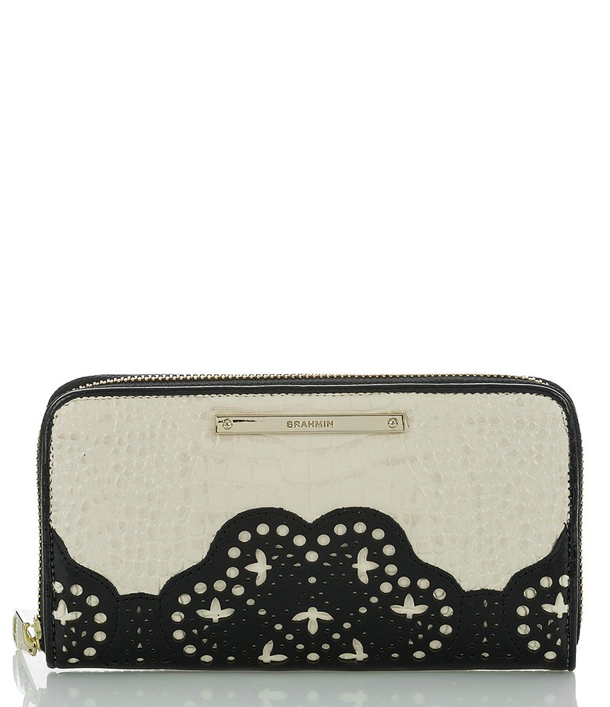Brahmin Magnolia Collection Suri Wallet