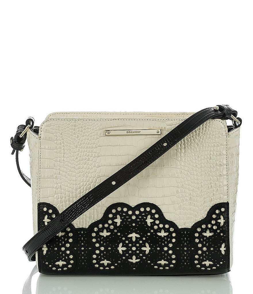 Brahmin Magnolia Collection Carrie Cross-Body Bag