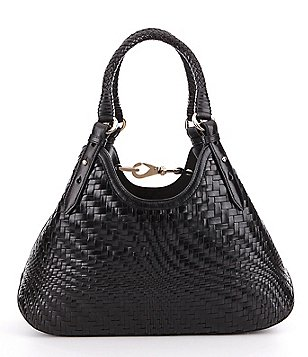 Cole Haan Genevieve Woven Small Triangle Tote