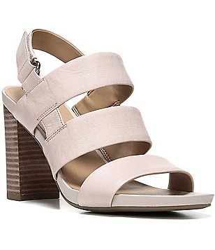 Franco Sarto Jena Banded Hook-and-Loop Block Heel Dress Sandals
