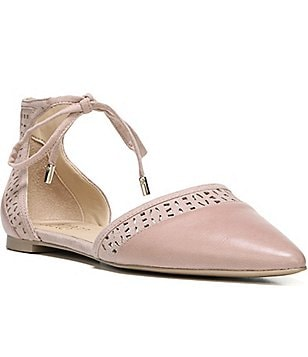 Franco Sarto Shirley d´Orsay Lace-Up Ankle Flats