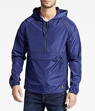 William Rast Travis Packable 3/4-Zip Anorak Jacket