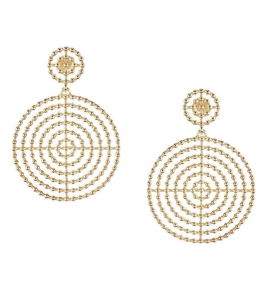 Anna & Ava Sloan Circular Drop Earrings