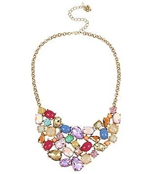 Betsey Johnson Stone Statement Necklace