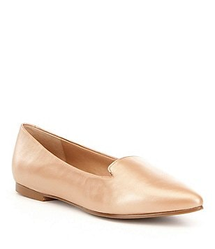 Trotters Harlowe Metallic Slip On Flats