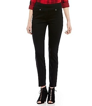 Westbound the PARK AVE fit Skinny Leg Elastic Waist Pant