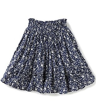 Ralph Lauren Childrenswear Little Girls 4-6X Floral Crinkled Skirt