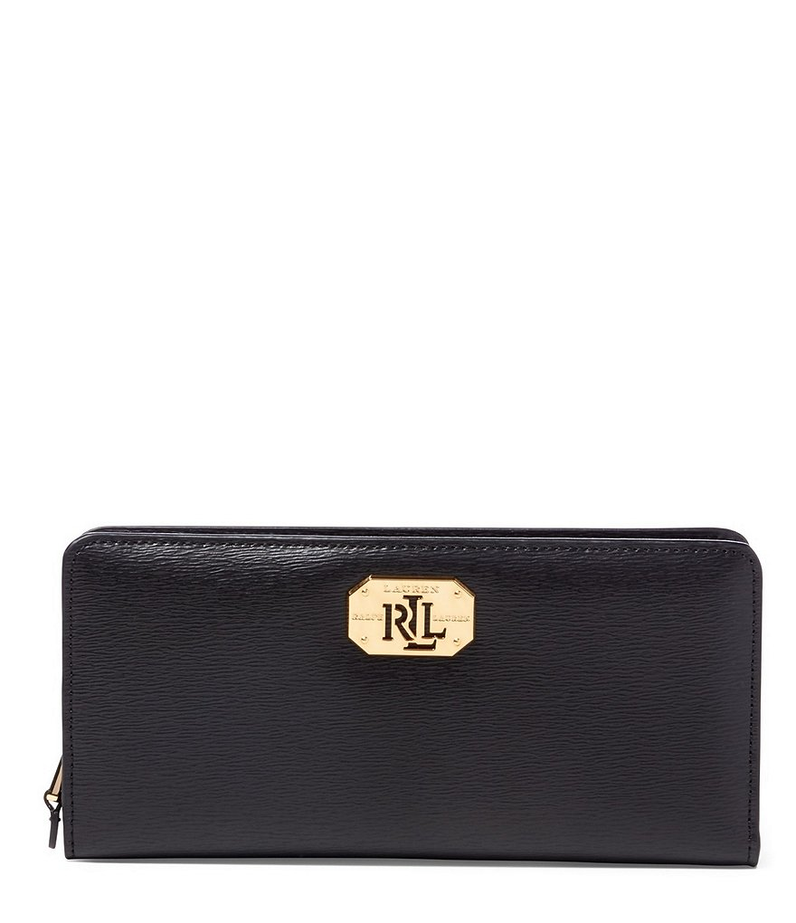 Lauren Ralph Lauren Newbury Collection Snap Wallet
