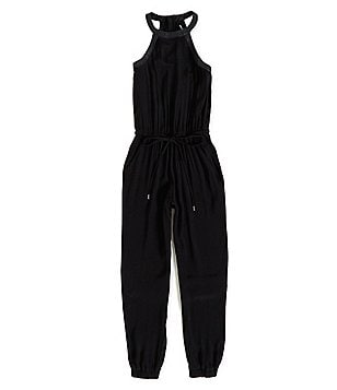 Miss Behave Big Girls 8-16 Joyce Halter Jumpsuit
