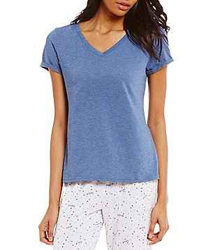 Jasmine & Ginger Heathered Sleep Top