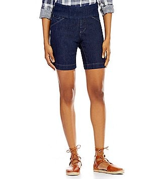 Jag Jeans Ainsley Mid-Rise 5-Pocket Shorts