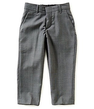 Class Club Gold Label Little Boys 2T-7 Sharkskin Dress Pants