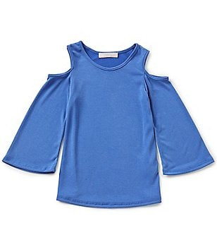 Moa Moa Big Girls 7-16 Cold-Shoulder Top