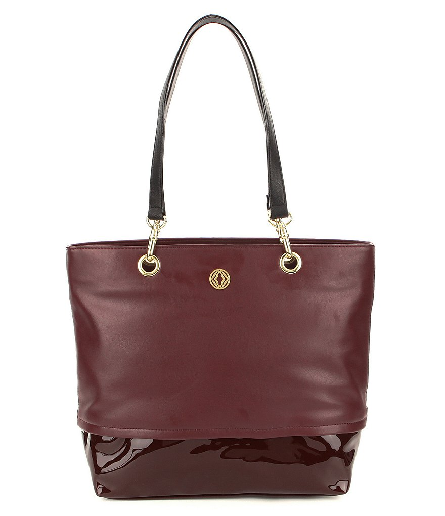 Kate Landry Patent-Pop Tote