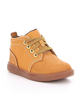Timberland Boy´s Groveton Leather & Fabric Lace-Up Chukka Boot
