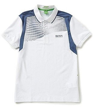 BOSS Green Paddy Pro Stretch Short-Sleeve Polo Shirt